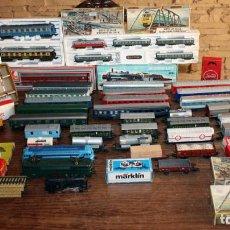 Trenes Escala: GRAN LOTE TREN: MARKLIN, ELECTROTREN, JOUEF, IBERTREN, PAYA, VAGONES, LOCOMOTORAS, VIAS.... Lote 150246890