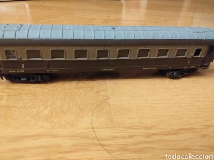 Trenes Escala: Lote de varios trenes, locomotoras, vagones, vías, transformadores casas y figuras. - Foto 5 - 150267466