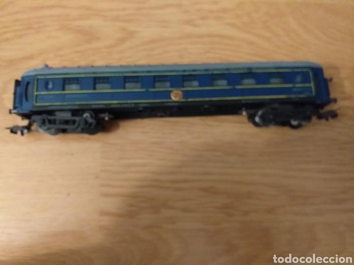 Trenes Escala: Lote de varios trenes, locomotoras, vagones, vías, transformadores casas y figuras. - Foto 7 - 150267466
