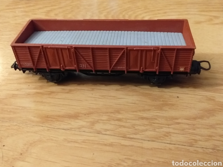 Trenes Escala: Lote de varios trenes, locomotoras, vagones, vías, transformadores casas y figuras. - Foto 20 - 150267466