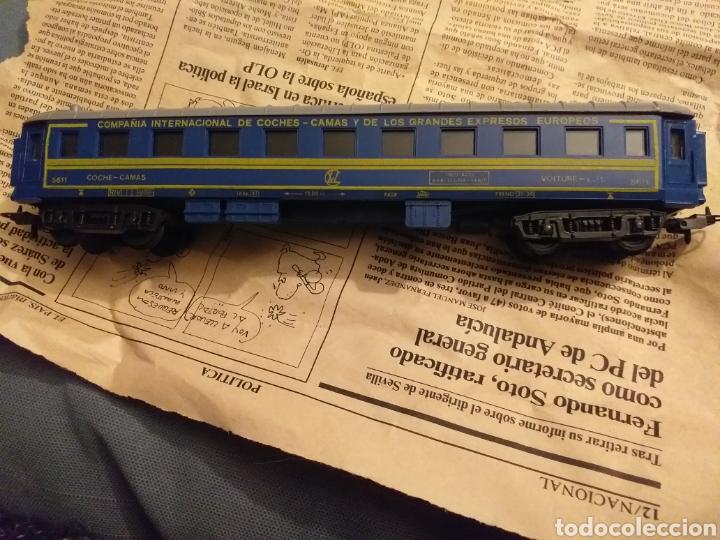 Trenes Escala: Lote de varios trenes, locomotoras, vagones, vías, transformadores casas y figuras. - Foto 35 - 150267466