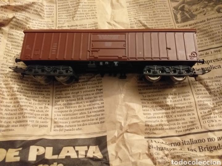 Trenes Escala: Lote de varios trenes, locomotoras, vagones, vías, transformadores casas y figuras. - Foto 39 - 150267466