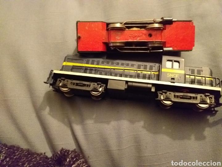 Trenes Escala: Lote de varios trenes, locomotoras, vagones, vías, transformadores casas y figuras. - Foto 47 - 150267466