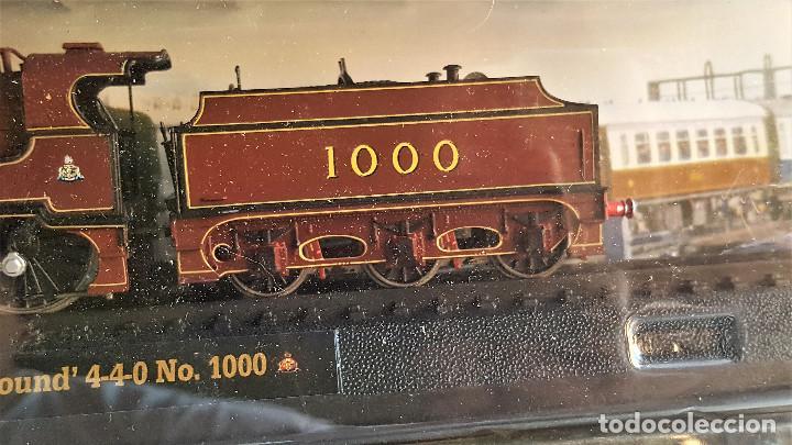 Züge Spur: SUPER LOTE 4 TRENES - 37.CM LARGO DE PASTA MAQUETA - SIN USO EN BLISTER - Foto 11 - 150490446