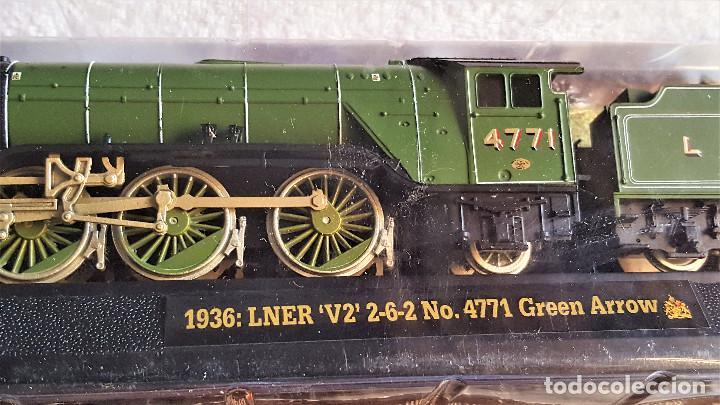 Züge Spur: SUPER LOTE 4 TRENES - 37.CM LARGO DE PASTA MAQUETA - SIN USO EN BLISTER - Foto 13 - 150490446