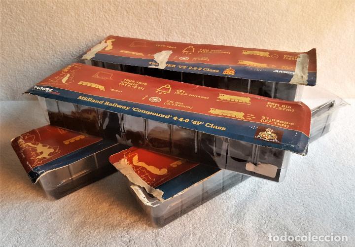 Züge Spur: SUPER LOTE 4 TRENES - 37.CM LARGO DE PASTA MAQUETA - SIN USO EN BLISTER - Foto 17 - 150490446