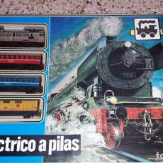 Trenes Escala: TREN PEQUETREN VIAJEROS REF 506 , SEINSA, VALTOY, TREN ANTIGUO, TREN DE JUGUETE. Lote 150491194