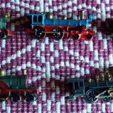 Trenes Escala: ANTIGUAS MINIATURAS DE LOCOMOTORA. PREMIUM CONGUITOS. PINTADAS A MANO. AÑOS 60. UNICAS. Lote 150753046