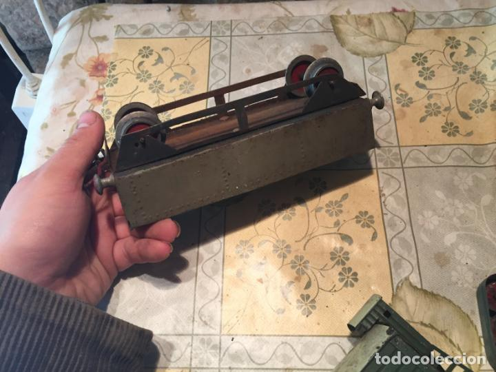 Trenes Escala: Antiguos 4 tren / trenes de juguete de varias marcas como paya de los años 40-50 - Foto 27 - 151167978