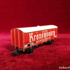 Trenes Escala: JOUEF TREN VAGON MERCANCIAS CERRADO SNCF KRONENBOURG ESCALA H0. Lote 151192266