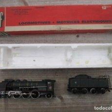 Trenes Escala: LOCOMOTORA JOUEF CON CARBONERA - AÑOS 70 - REFERENCIA 4870 Y 4920 - NUEVO CON CAJA. Lote 151414054
