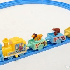 Trenes Escala: TREN CIRCO CON ANIMALES. CHICCO. AÑOS `80. Lote 151603298