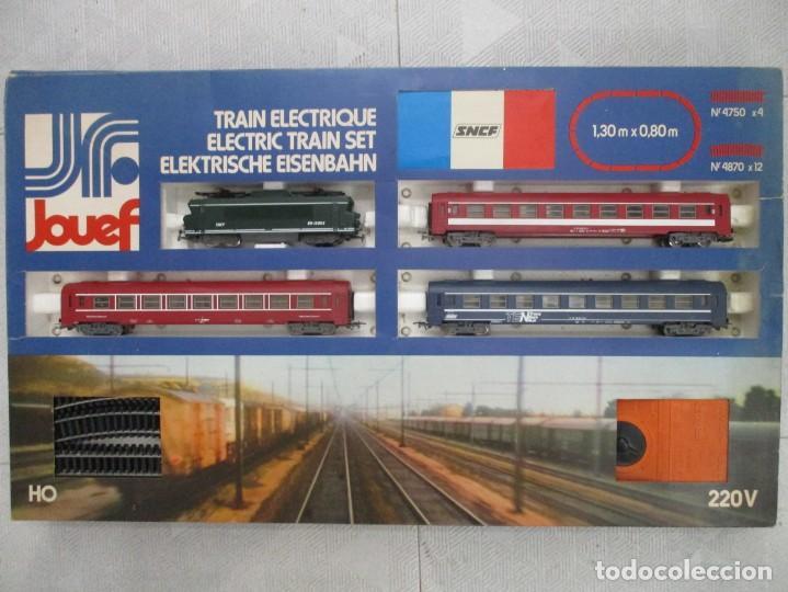 Trenes Escala: EXCEPCIONAL CAJA JOUEF - TRANS EURO NUIT - TRES VAGONES + LOCOMOTORA - CON CAJA MUY BUEN ESTADO - Foto 6 - 151712114