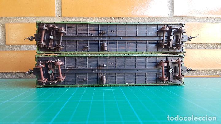 Trenes Escala: Walthers Lote de 2 Vagones Cerrados Burlington Northern Escala H0 - Foto 6 - 152143894