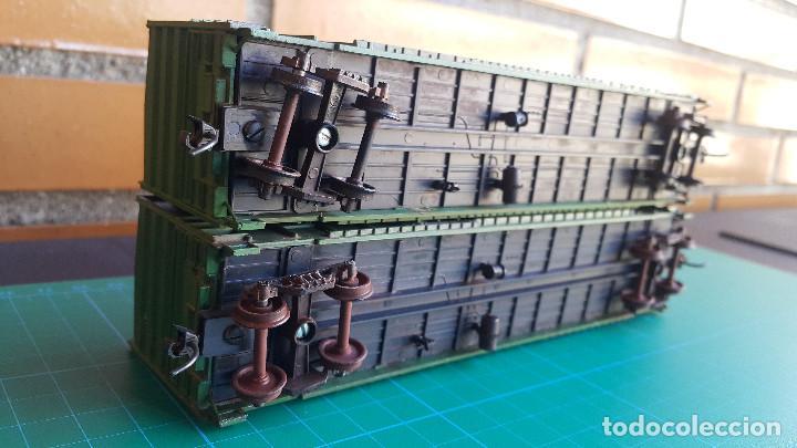 Trenes Escala: Walthers Lote de 2 Vagones Cerrados Burlington Northern Escala H0 - Foto 8 - 152143894