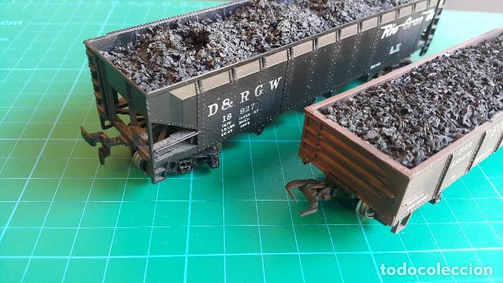 Trenes Escala: Lote de 2 Vagones Americanos Tipo Góndola Escala H0 - Foto 6 - 152144770