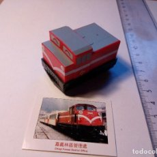 Trenes Escala: LOCOMOTORA MINIATURA MINI TREN TOUCH RAIL CO. DE FRICCIÓN FABRICADO EN TAIWAN. Lote 152329690
