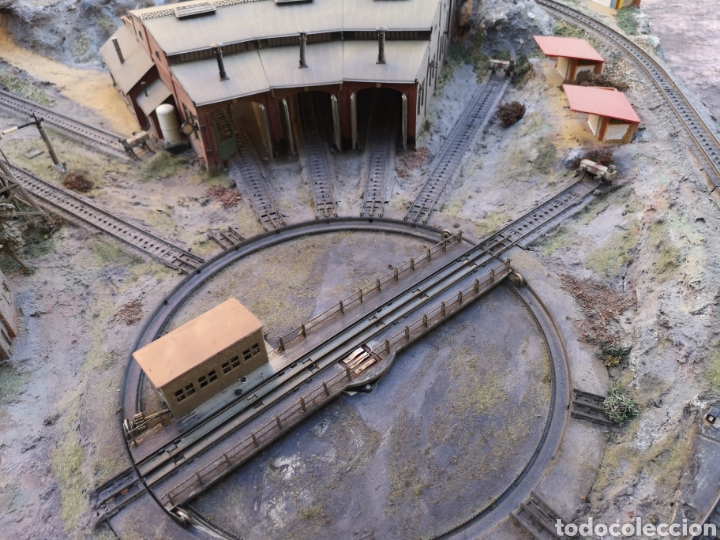 Trenes Escala: Maqueta de tren marca marklín, más de 2 metros por 1 y medio ESCALA H0 - Foto 2 - 182561168