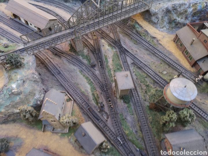 Trenes Escala: Maqueta de tren marca marklín, más de 2 metros por 1 y medio ESCALA H0 - Foto 4 - 182561168