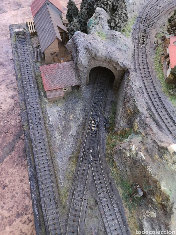 Trenes Escala: Maqueta de tren marca marklín, más de 2 metros por 1 y medio ESCALA H0 - Foto 5 - 182561168