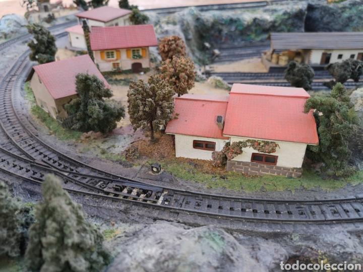 Trenes Escala: Maqueta de tren marca marklín, más de 2 metros por 1 y medio ESCALA H0 - Foto 6 - 182561168