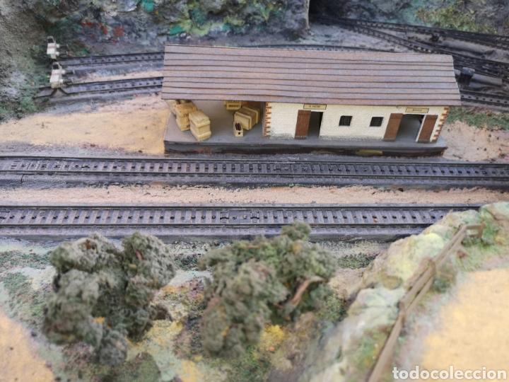 Trenes Escala: Maqueta de tren marca marklín, más de 2 metros por 1 y medio ESCALA H0 - Foto 7 - 182561168