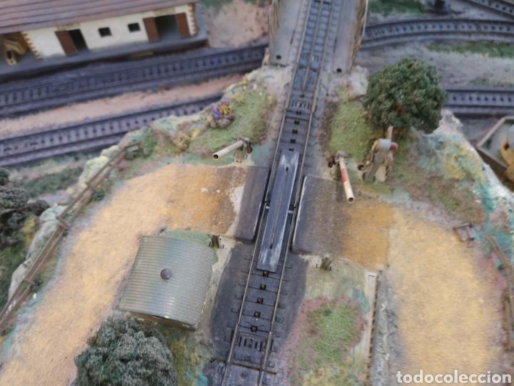 Trenes Escala: Maqueta de tren marca marklín, más de 2 metros por 1 y medio ESCALA H0 - Foto 8 - 182561168