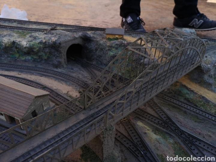 Trenes Escala: Maqueta de tren marca marklín, más de 2 metros por 1 y medio ESCALA H0 - Foto 9 - 182561168