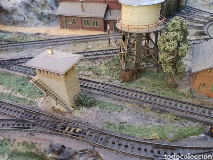 Trenes Escala: Maqueta de tren marca marklín, más de 2 metros por 1 y medio ESCALA H0 - Foto 10 - 182561168