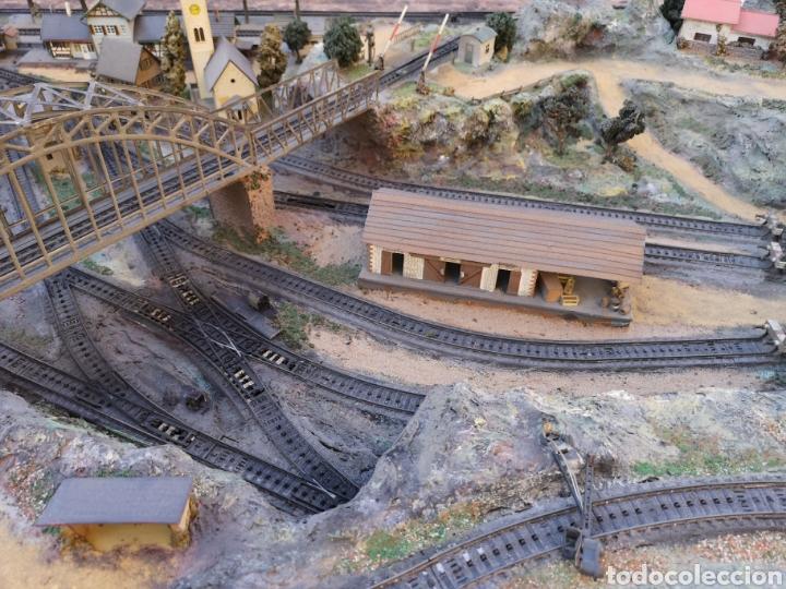 Trenes Escala: Maqueta de tren marca marklín, más de 2 metros por 1 y medio ESCALA H0 - Foto 13 - 182561168