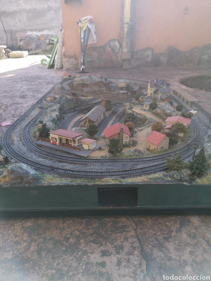 Trenes Escala: Maqueta de tren marca marklín, más de 2 metros por 1 y medio ESCALA H0 - Foto 16 - 182561168