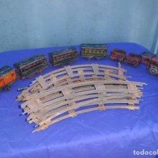 Trenes Escala: ESPECTACULAR CONJUNTO DE TREN ANTIGUO. Lote 154998142