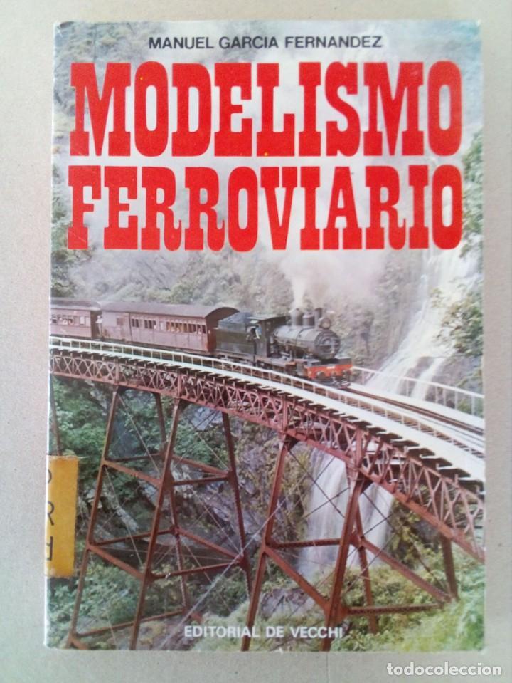 INTERESANTE LIBRO DE MODELISMO FERROVIARIO, MUY ESCASO. (Juguetes - Trenes - Varios)