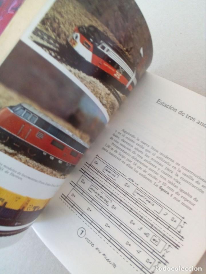 Trenes Escala: INTERESANTE LIBRO DE MODELISMO FERROVIARIO, MUY ESCASO. - Foto 4 - 155255546