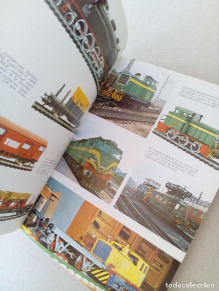 Trenes Escala: INTERESANTE LIBRO DE MODELISMO FERROVIARIO, MUY ESCASO. - Foto 5 - 155255546