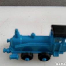 Trenes Escala: ANTIGUO TREN METALICO LOCOMOTORA DE CHAPA METAL HIERRO. Lote 155593894