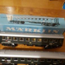 Trenes Escala: LOTE DOS VAGONES TREN MARKLIN. Lote 155679102