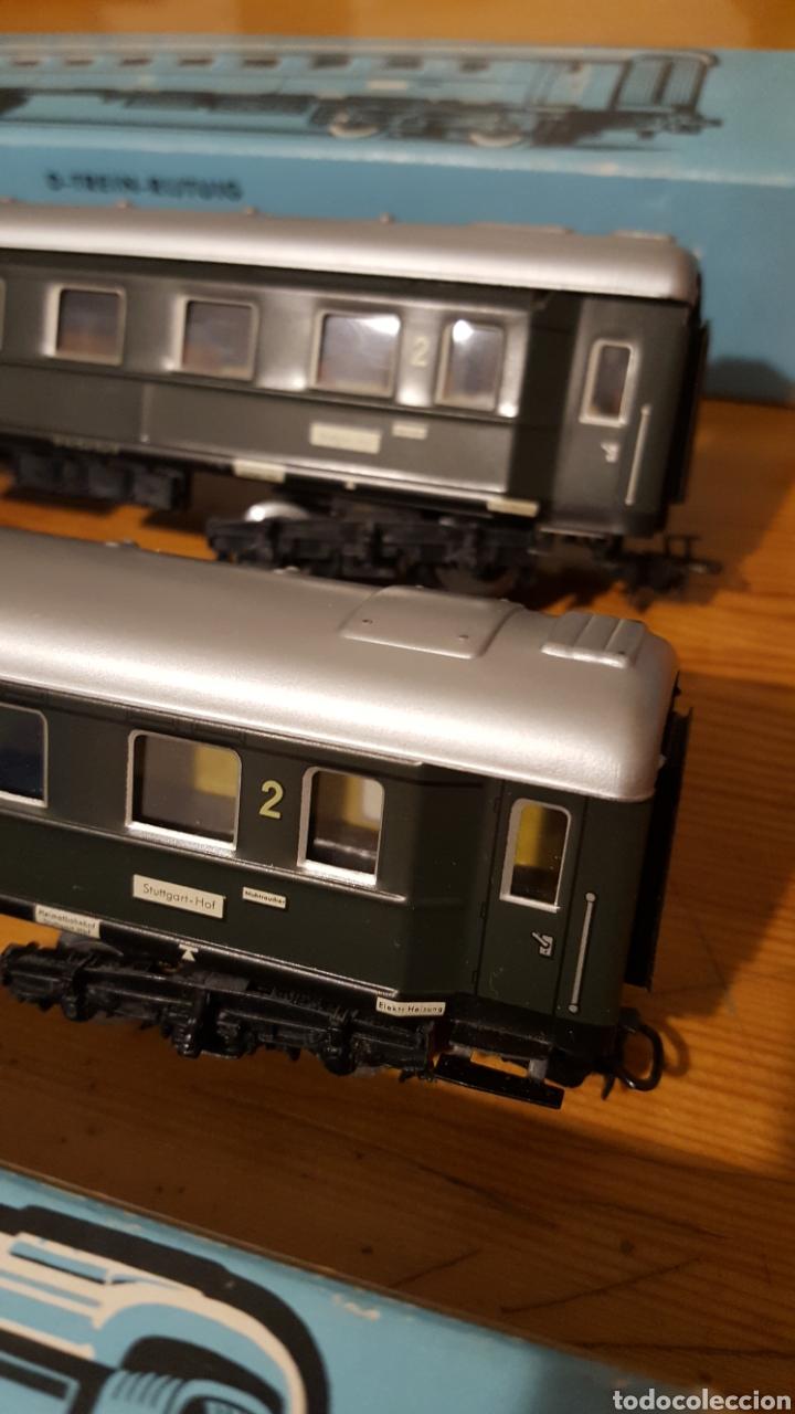 Trenes Escala: Lote dos vagones tren Marklin - Foto 3 - 155679102