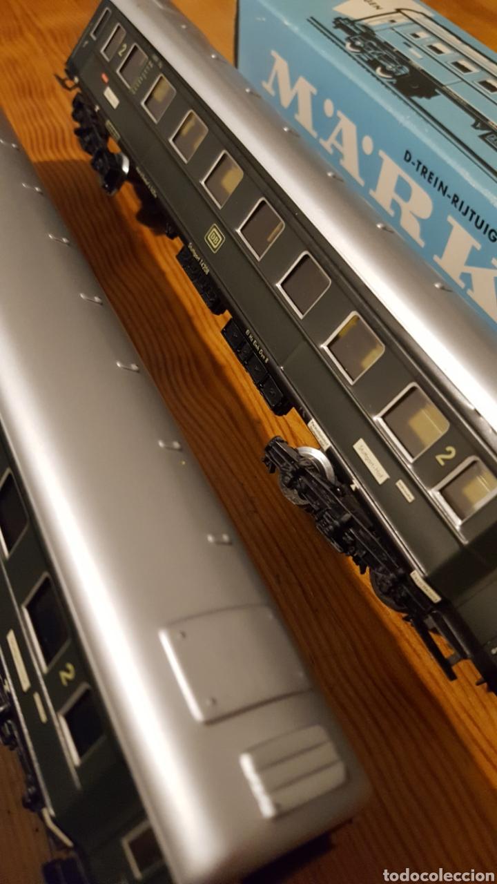 Trenes Escala: Lote dos vagones tren Marklin - Foto 4 - 155679102