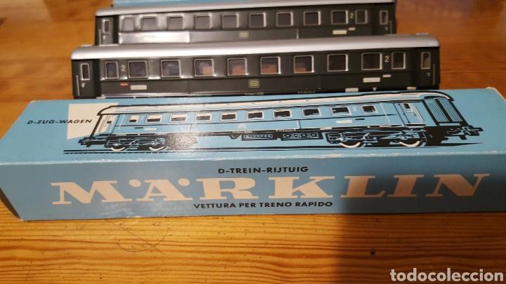 Trenes Escala: Lote dos vagones tren Marklin - Foto 7 - 155679102