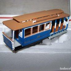 Trenes Escala: TRANVIA BACHMANN EN ESCALA H0. EN SU CAJA. COMO NUEVO.. Lote 155768546