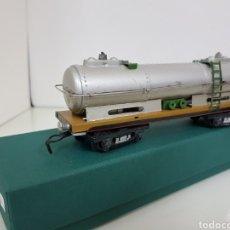 Trenes Escala: VAGON CISTERNA ESCALA S PAYA DE 18 CM. Lote 155800634