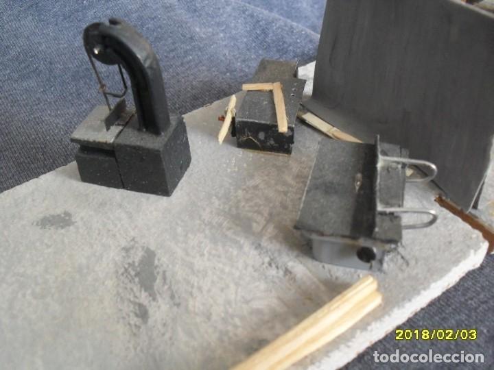 Trenes Escala: interior de taller con maquinaria H0 - Foto 5 - 127109871