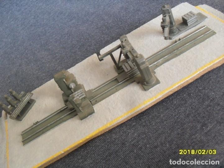 Trenes Escala: interior de taller con maquinaria H0 - Foto 8 - 127109871
