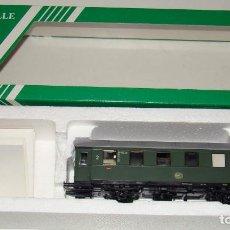 Trenes Escala: VAGON PASAJEROS DE LA DB 2ª CLASE. ESCALA HO SACHSENMODELLE. Lote 156585150