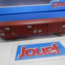 Trenes Escala: VAGÓN CERRADO ESCALA HO DE JOUEF . Lote 156631738