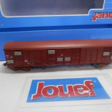 Trenes Escala: VAGÓN CERRADO ESCALA HO DE JOUEF . Lote 156632490