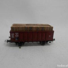 Trenes Escala: VAGÓN BORDE ALTO ESCALA HO DE LILIPUT . Lote 156634610