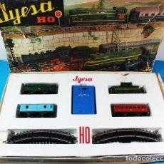 Trenes Escala: TREN ELECTRICO JYE JYESA H0 AÑOS 60/70, VER IMAGENES. Lote 156650686
