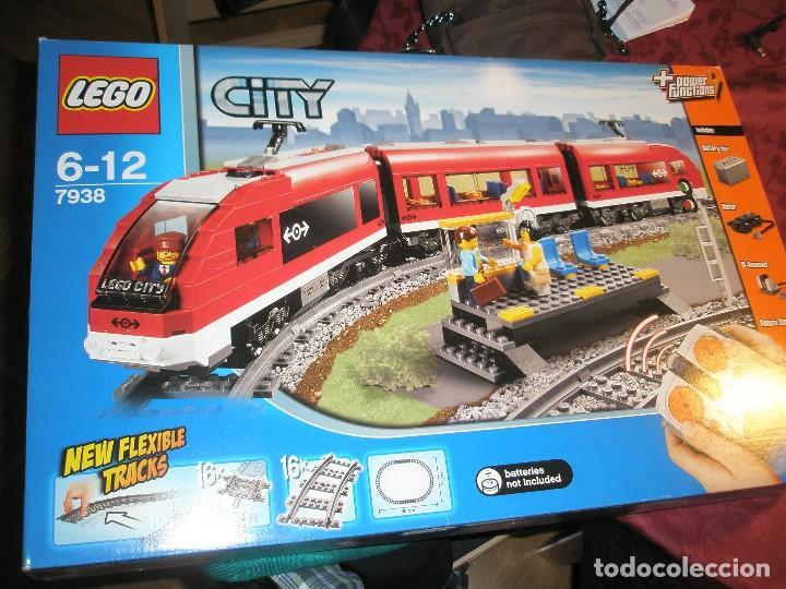 LEGO SET REF:7938 LEGO TREN DE CERCANIAS NUEVO A ESTRENAR CON PRECINTOS SELLADO.DESCATALOGADO (Juguetes - Trenes Escala H0 - Otros Trenes Escala H0)